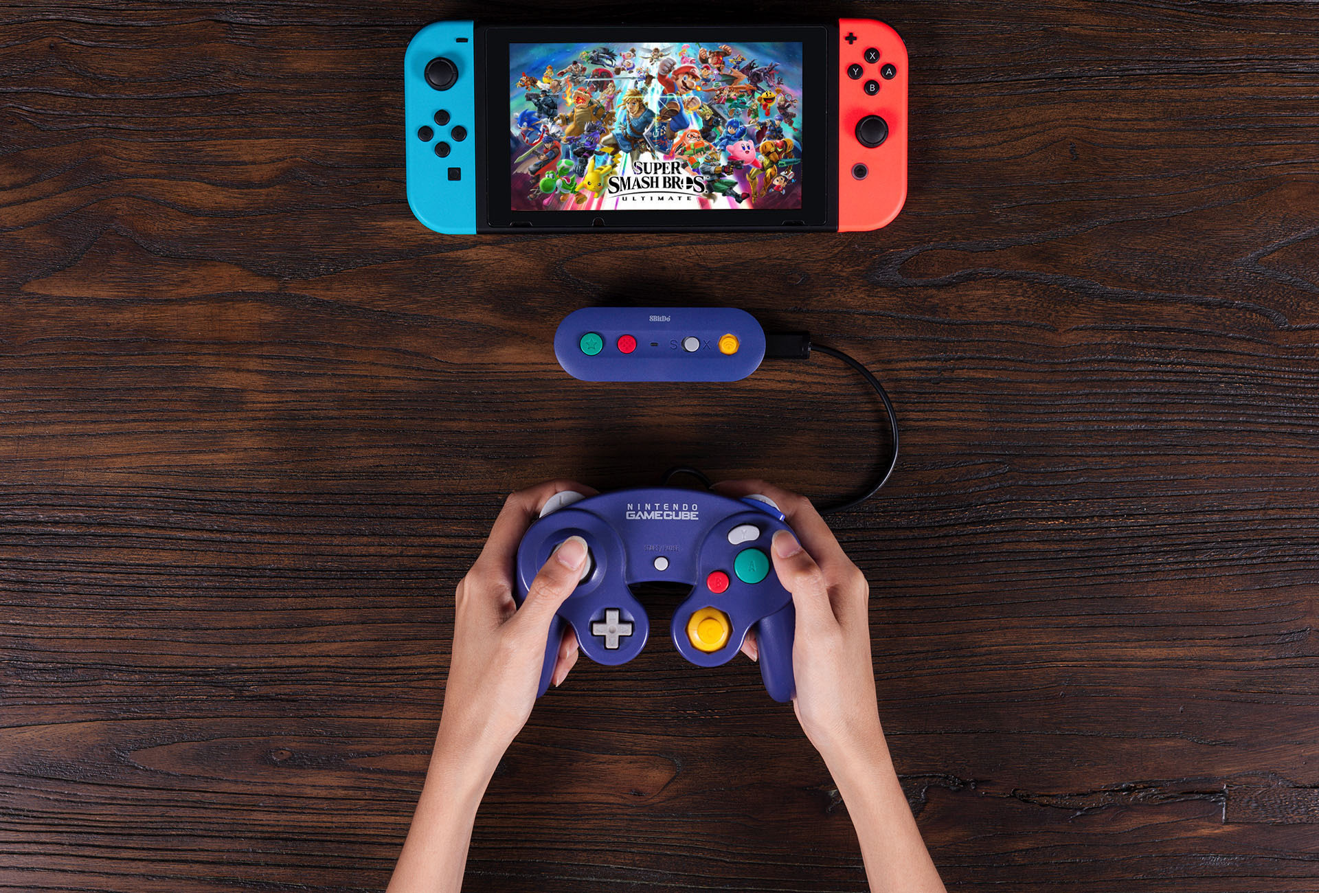 This wireless Switch adapter for Nintendo controllers is out just in time for Smash Ultimate screenshot