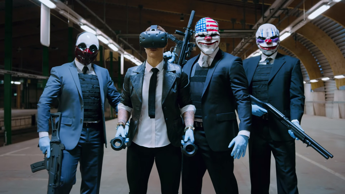 Players have finally uncovered Payday 2's secret ending screenshot