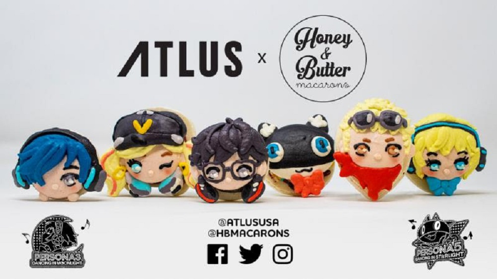 Honey & Butter unveil limited edition Persona Dancing macarons screenshot
