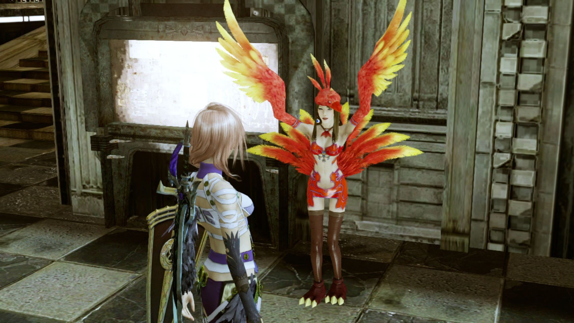 The trio of Final Fantasy XIII games are coming to Xbox One via backward compatibility screenshot