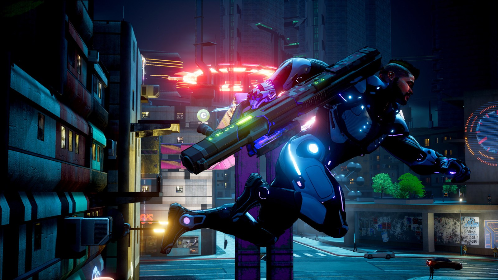 Crackdown 3 officially launches on February 15 screenshot