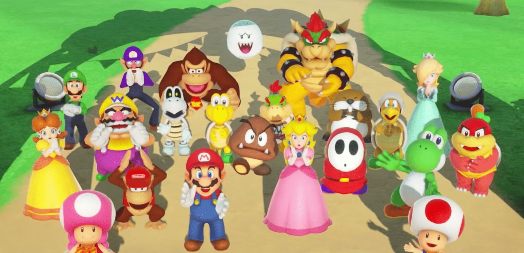 This Super Mario Party Joy-Con bundle is a great way to start the party screenshot