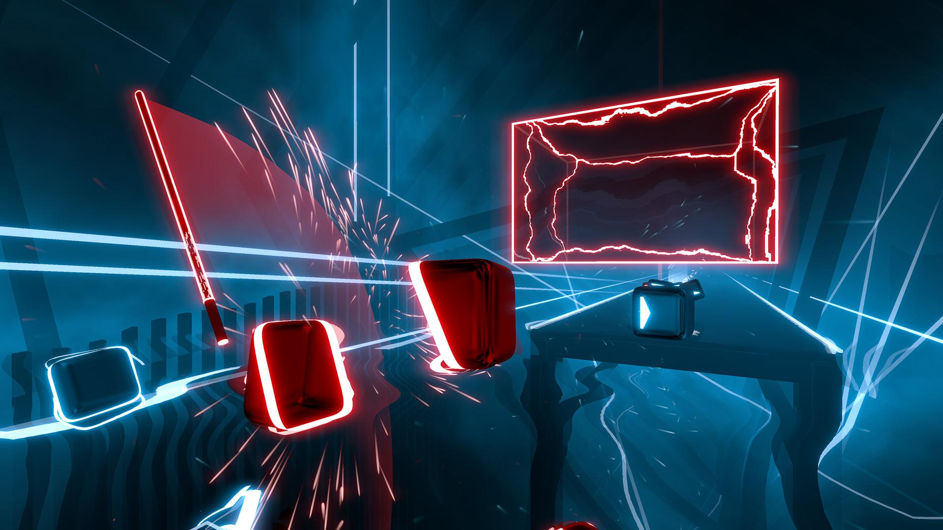 Rhythm slice-'em-up Beat Saber hits PlayStation VR this month screenshot