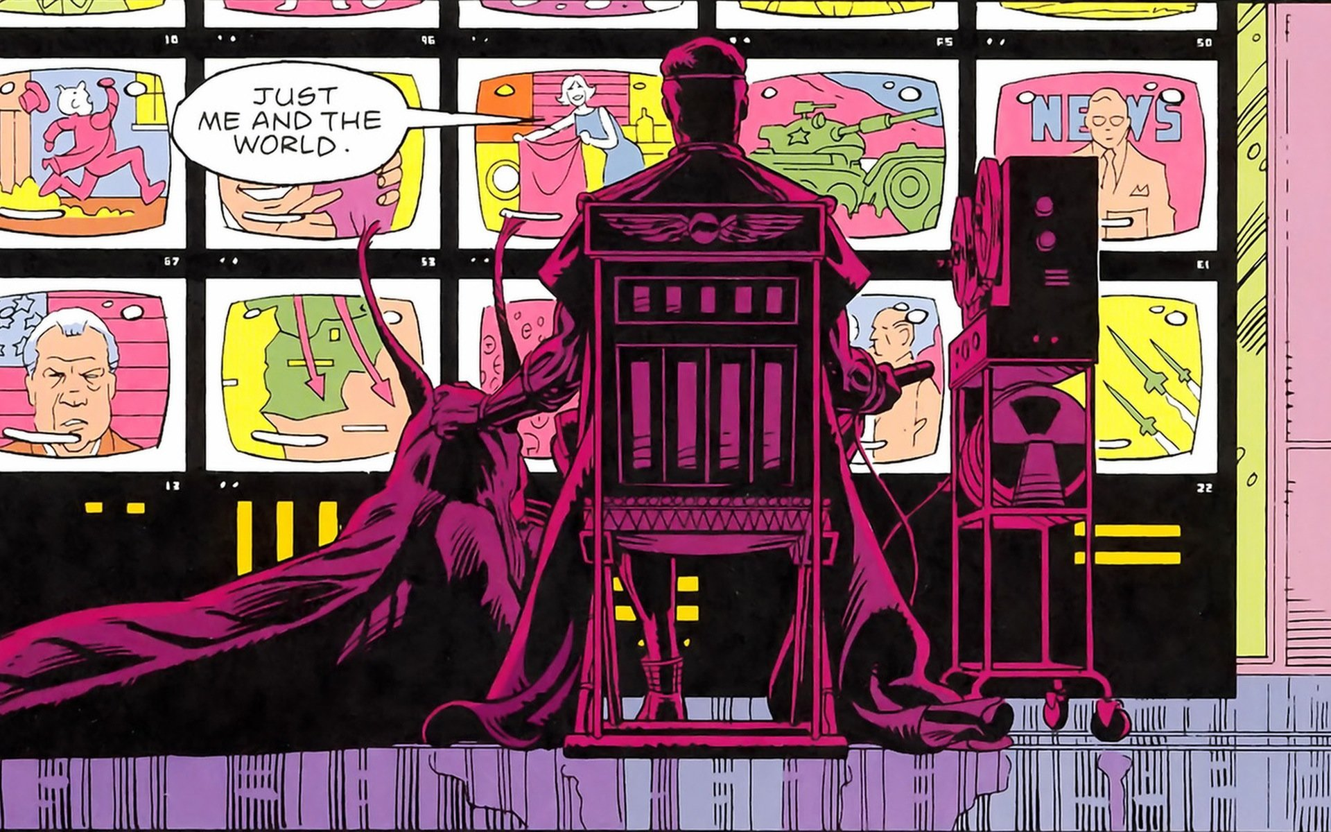 Be prepared: Jeremy Irons may play Ozymandias in HBO's Watchmen screenshot