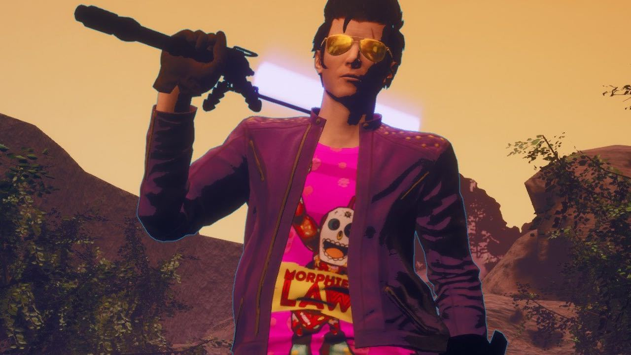 Travis Strikes Again's physical version will include the season pass screenshot