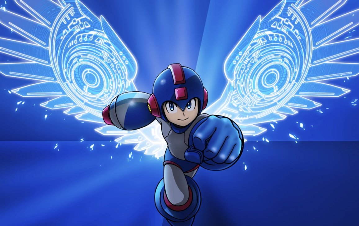 Uh, what? Mega Man is teaming up with Red Bull screenshot