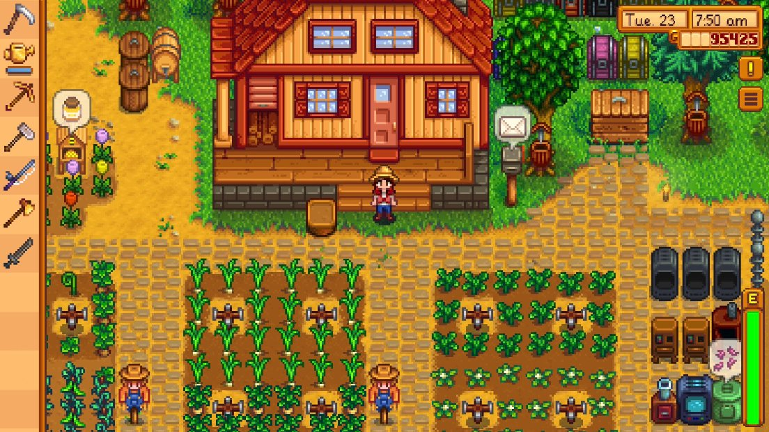 Stardew Valley on iPad proves there is no wrong way to play this game screenshot