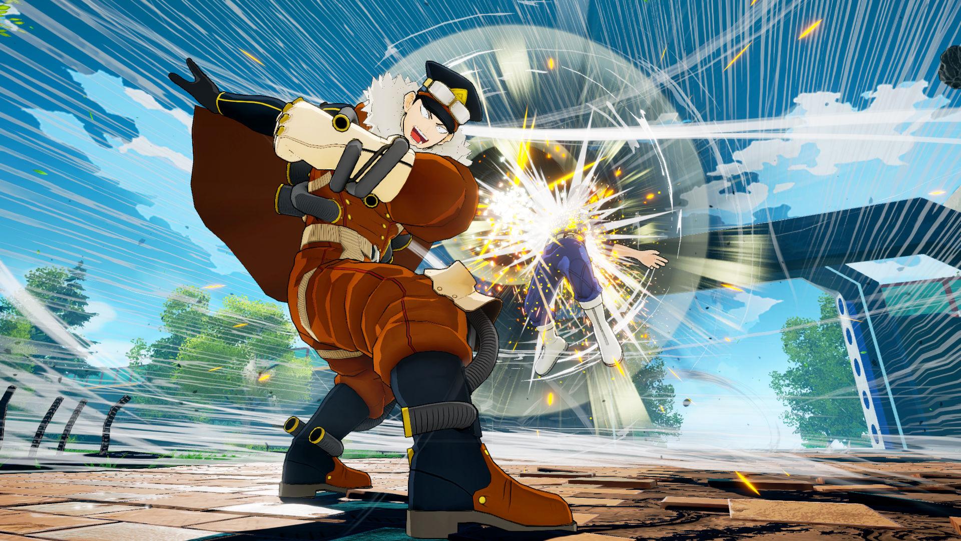 My Hero One's Justice adds wind master Inasa Yoarashi as DLC this week screenshot