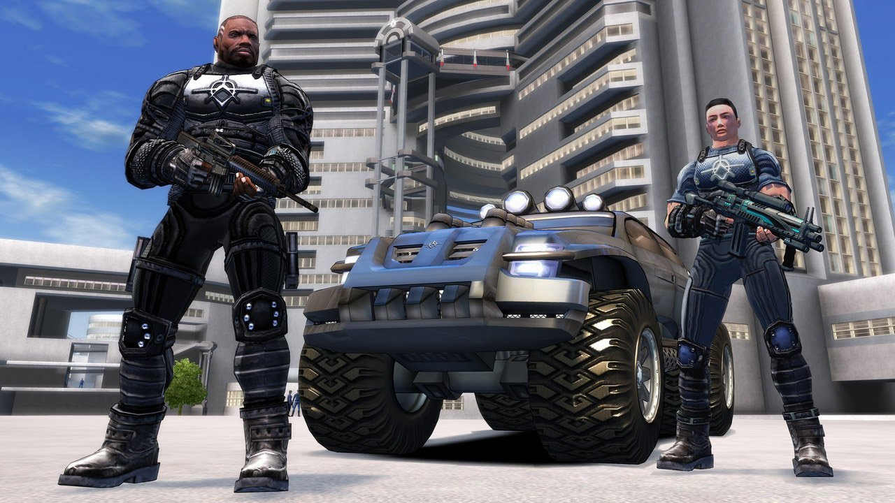 Crackdown is free on the Xbox Live marketplace right now screenshot