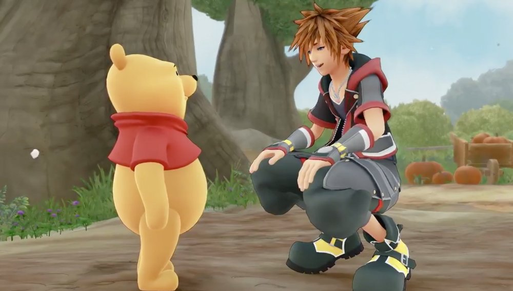 Sora returns to the Hundred Acre Wood in this new Kingdom Hearts 3 trailer screenshot