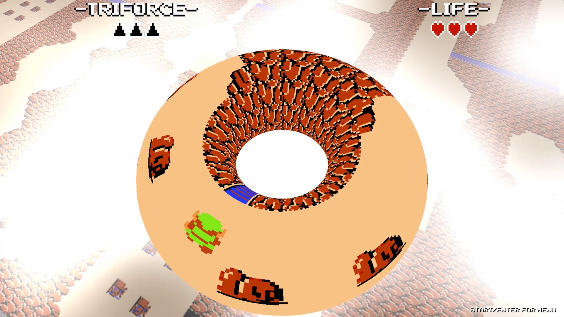 Triforce: The Topologies of Zelda is a trippy take on the NES masterpiece screenshot