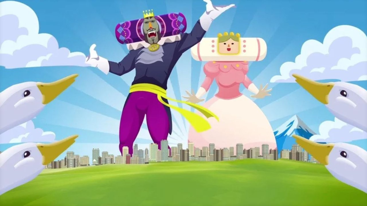 Katamari Switch is getting a demo, just in case you haven't experienced the madness yet screenshot