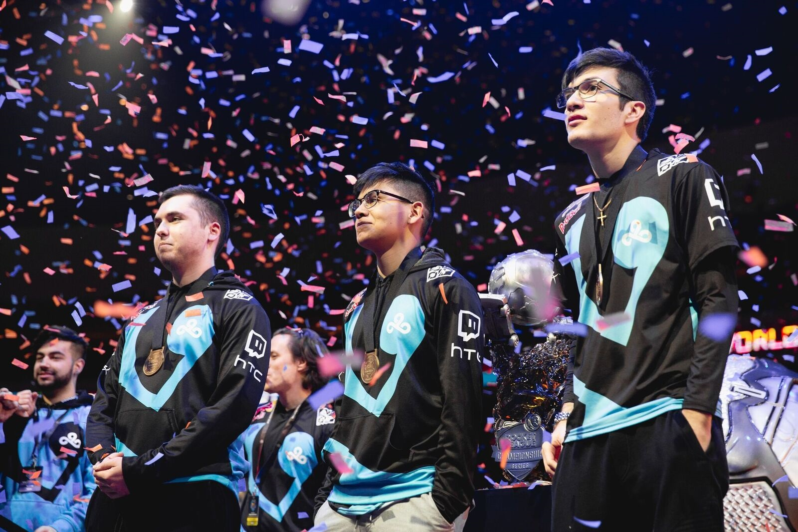 Solo plays and style led to Cloud9's first Rocket League championship photo