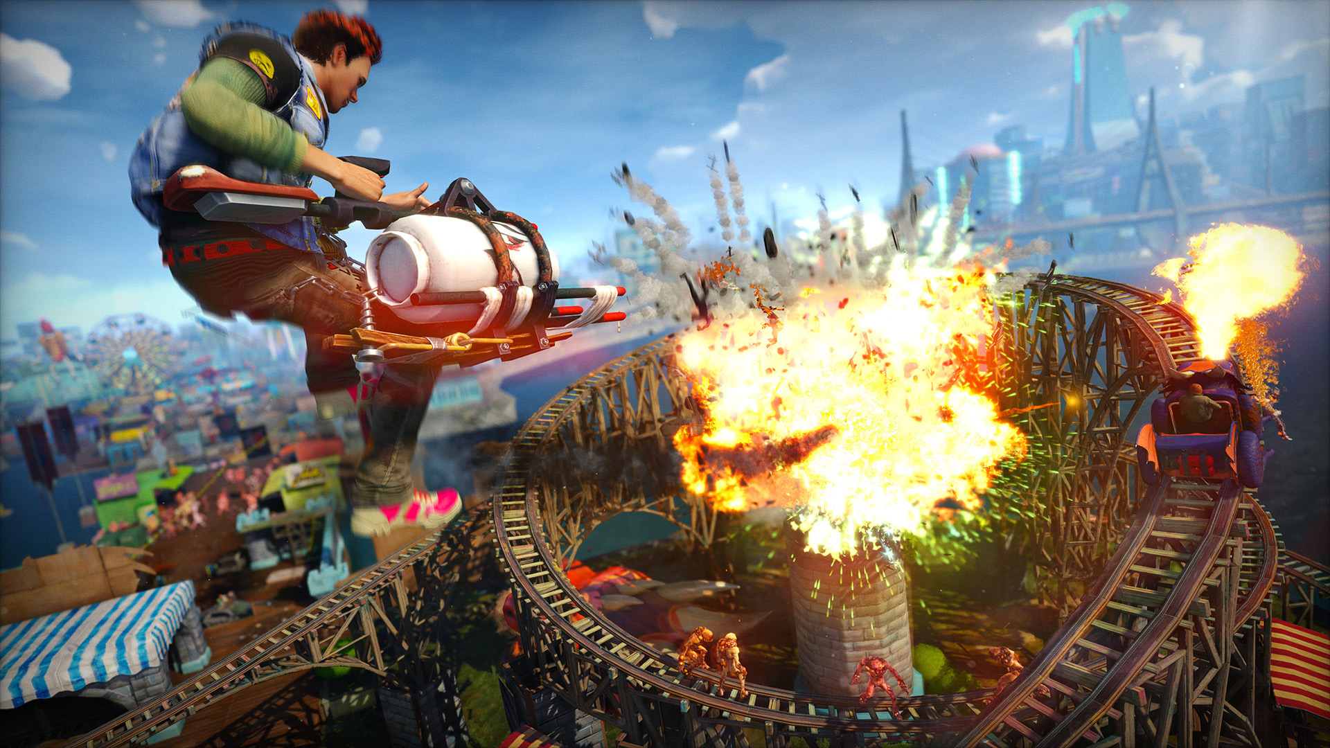 Sunset Overdrive hits PC this week for $20 screenshot