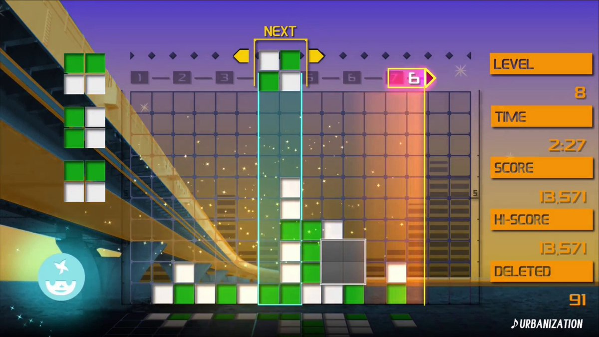 Lumines Remastered sold more on Switch than any other platform screenshot