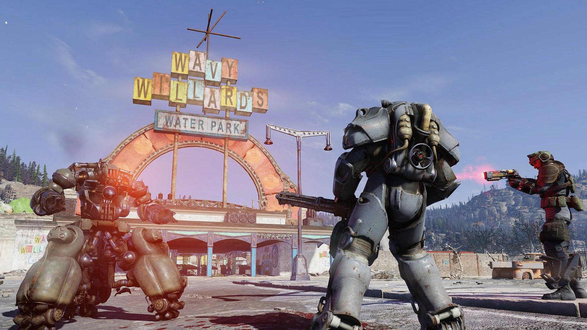 Build a Fallout 76 character now before launch with this app screenshot