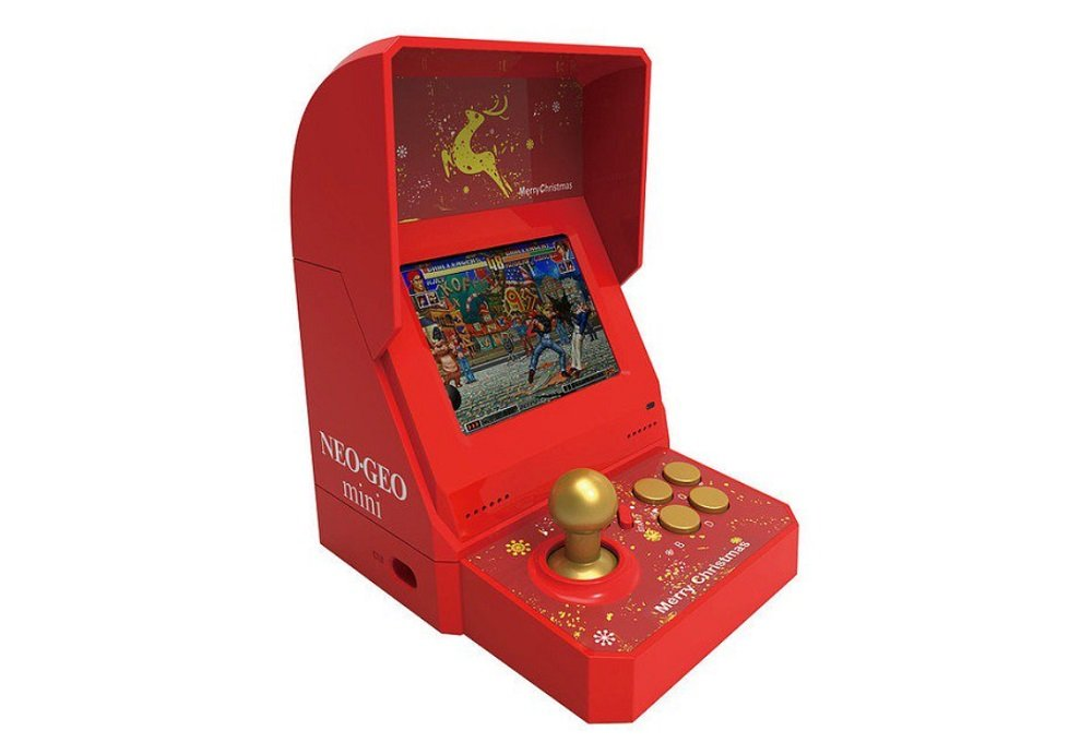 Open For Christmas Orders.Snk To Release A Limited Edition Christmas Neo Geo Mini