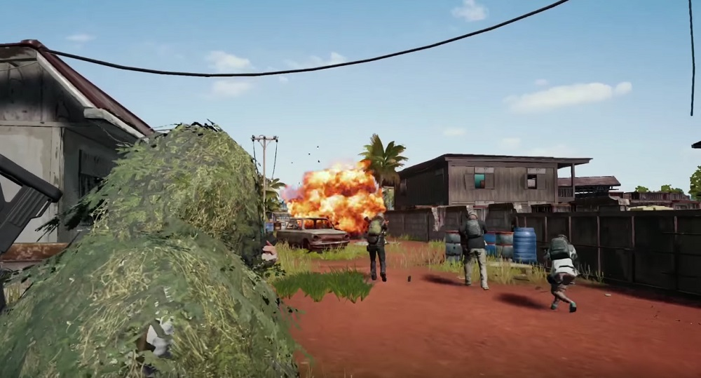 PlayerUnknown's Battlegrounds officially coming to PS4 next month screenshot