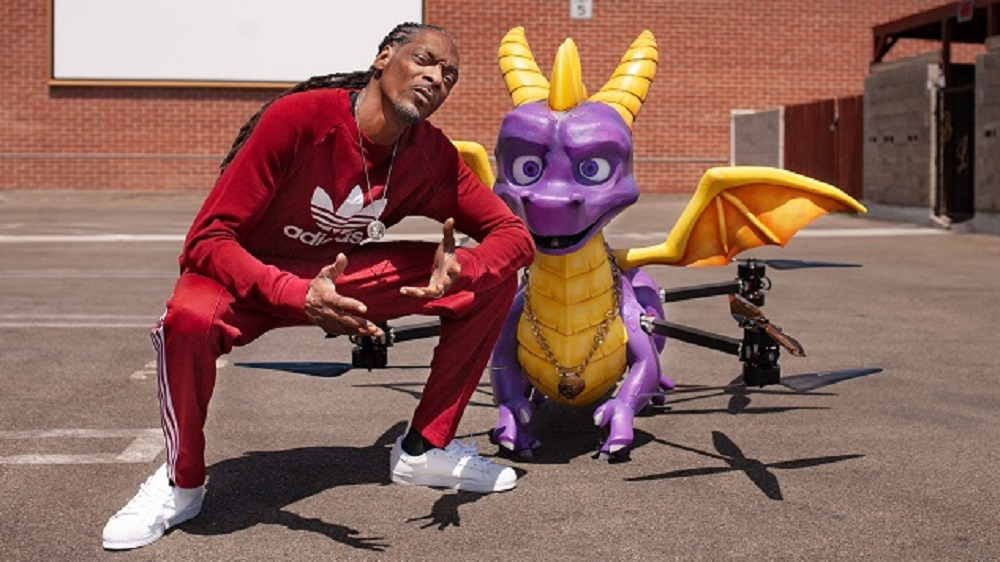 That full-size Spyro drone got Snoop Dogg's copy of Reignited Trilogy to him safe and sound screenshot
