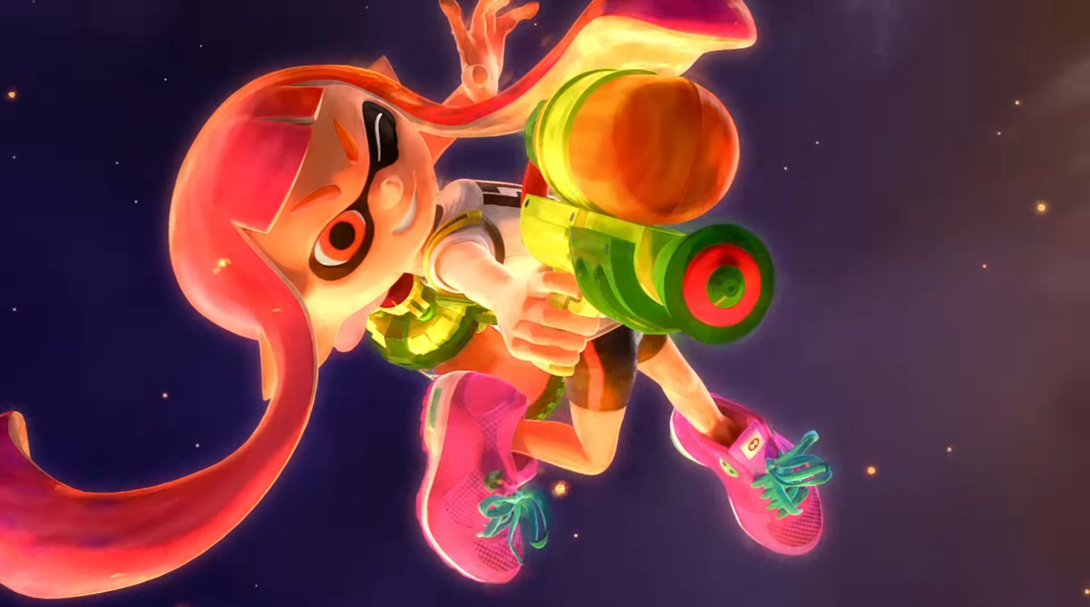 Splatoon dives into Super Smash Bros. Ultimate with a new remix screenshot