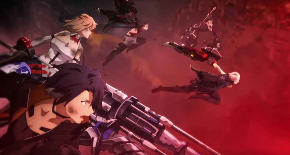 Check out God Eater 3's dramatic, action-packed anime intro screenshot
