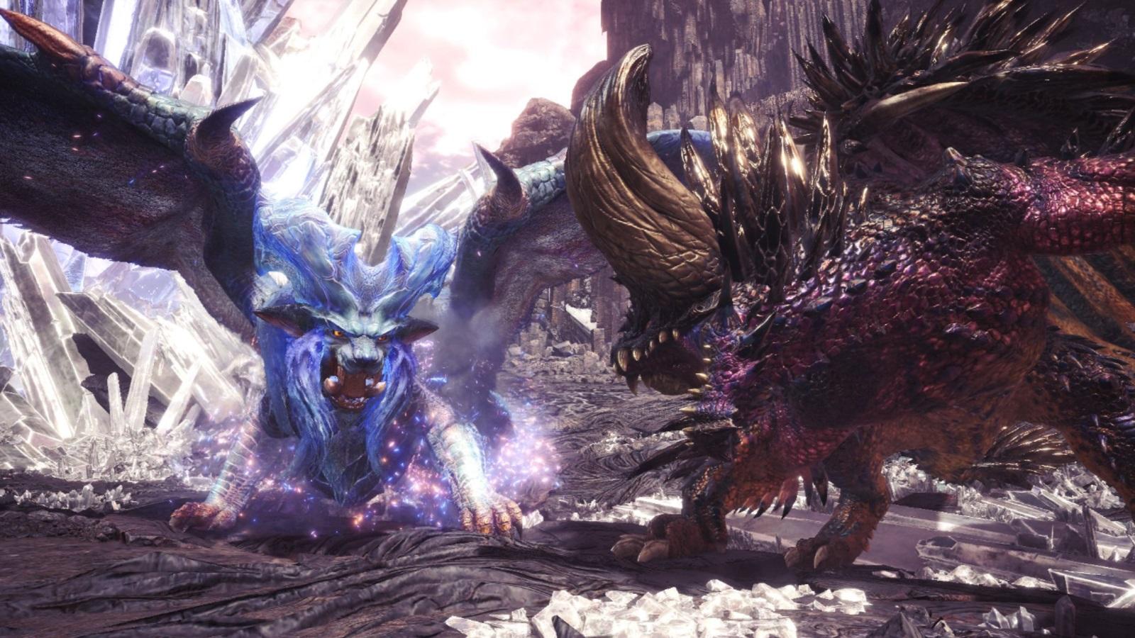 Monster Hunter: World's PC players get burned by Lunastra on November 22 screenshot