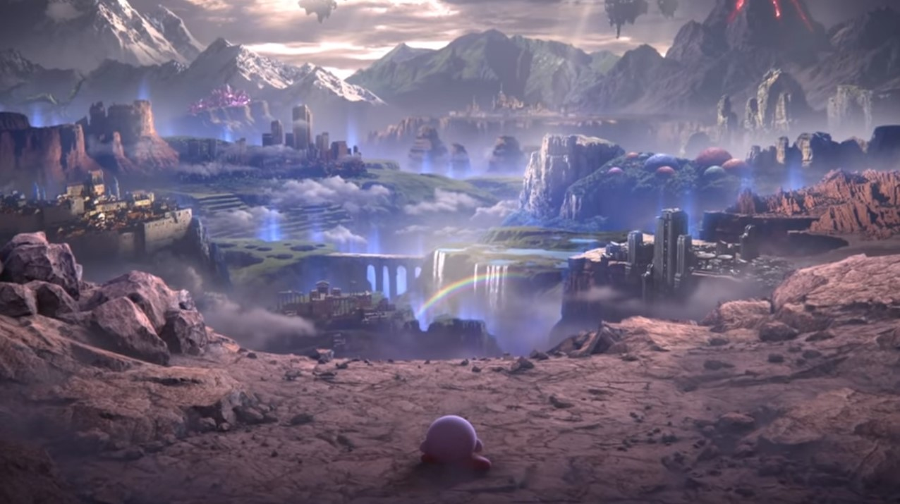 The World of Light has lifted my Spirits for Smash Bros. Ultimate screenshot