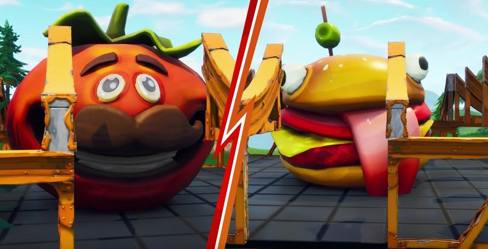 Who will be the last burger standing in Fortnite Food Fight? screenshot