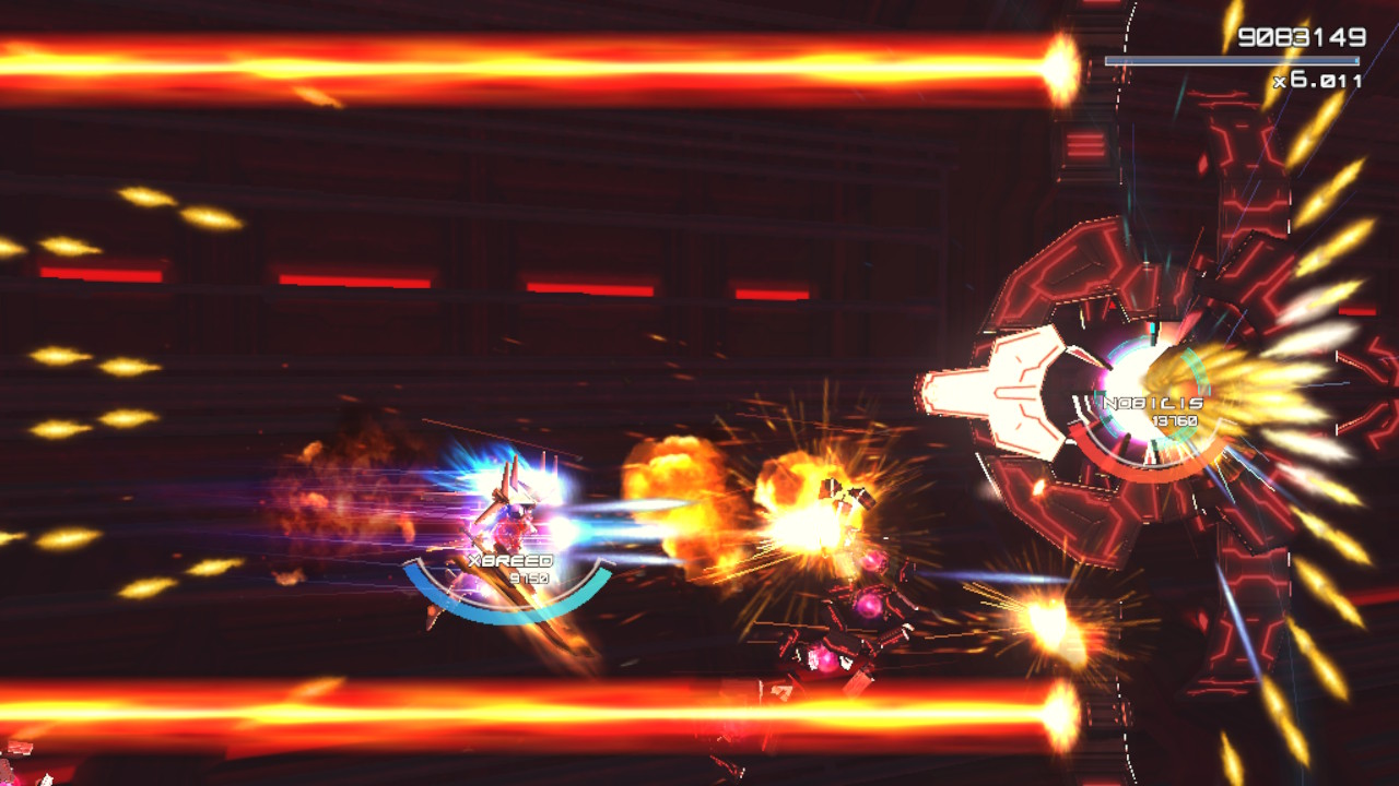 Astebreed is a significant downgrade on the Switch screenshot