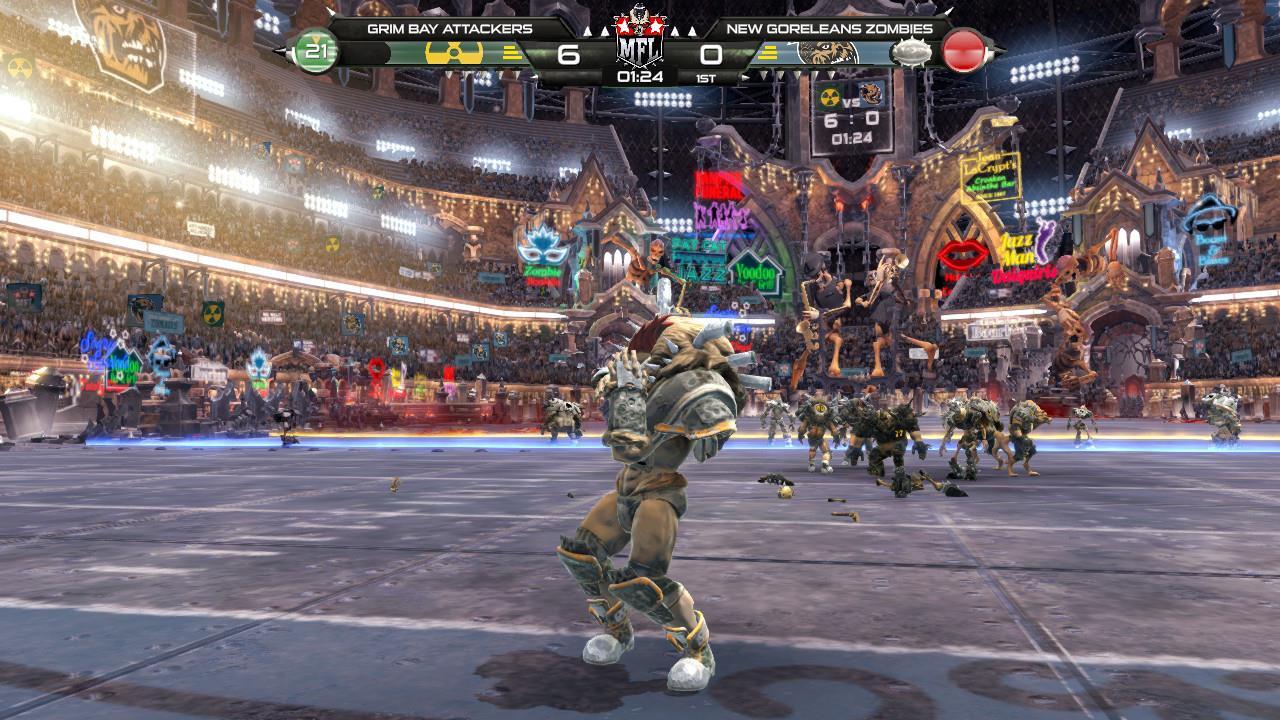 Review: Mutant Football League: Dynasty Edition screenshot