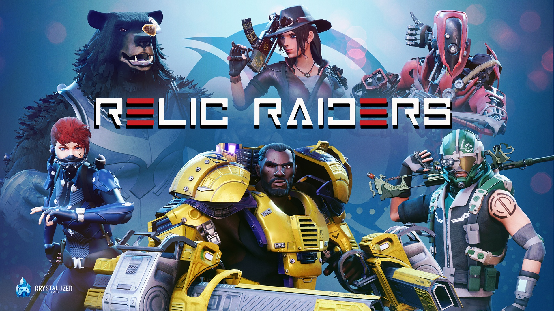 Play Relic Raiders today, a free-to-play battle royale shooter screenshot