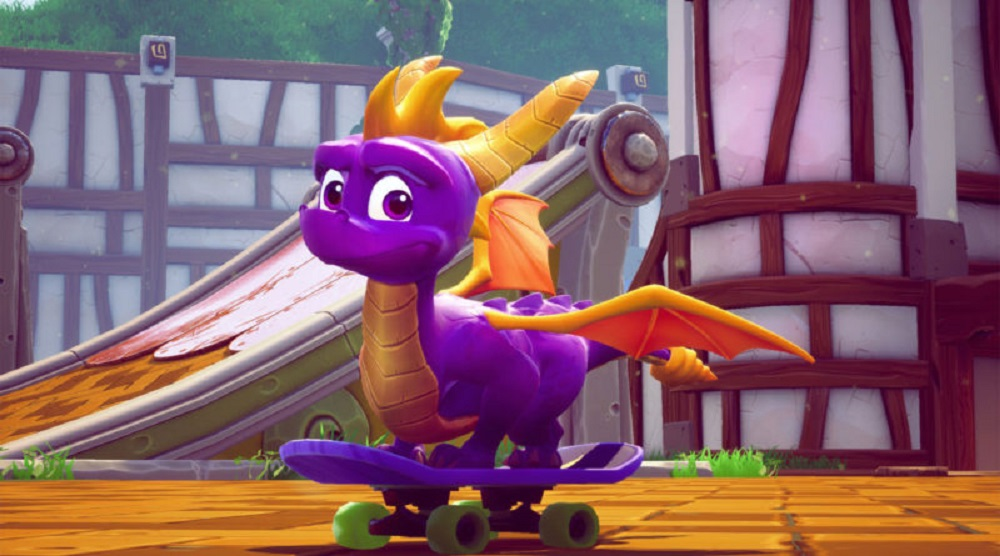 Spyro Reignited Trilogy burns Red Dead Redemption 2 to top the UK Charts screenshot