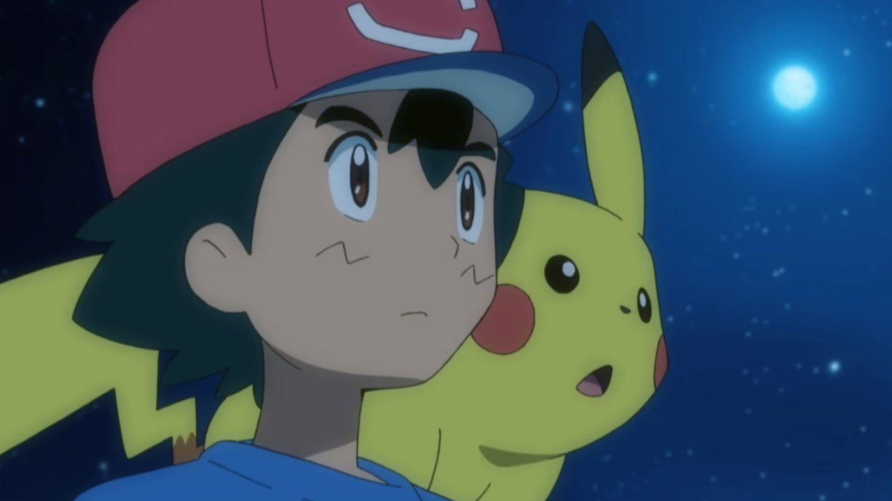 Nintendo jabs at your nostalgia tendon with a remade Pokemon anime intro screenshot