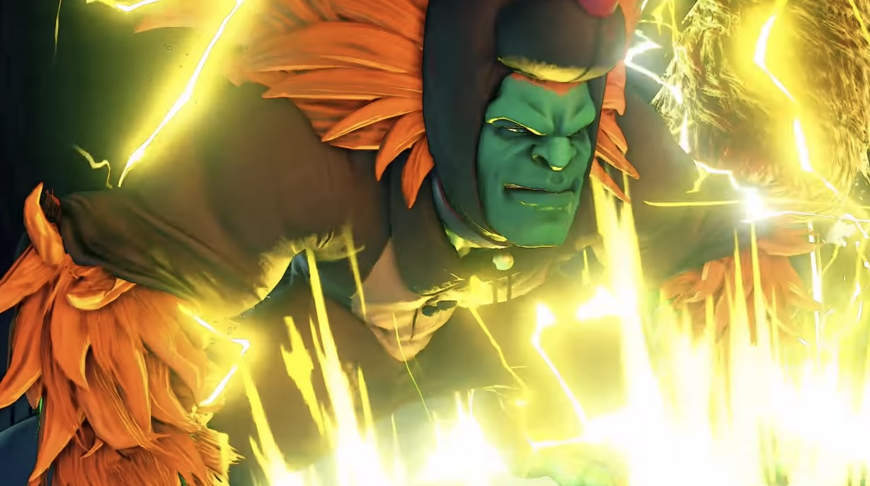 The best part of this Street Fighter V Christmas costume trailer is the music screenshot