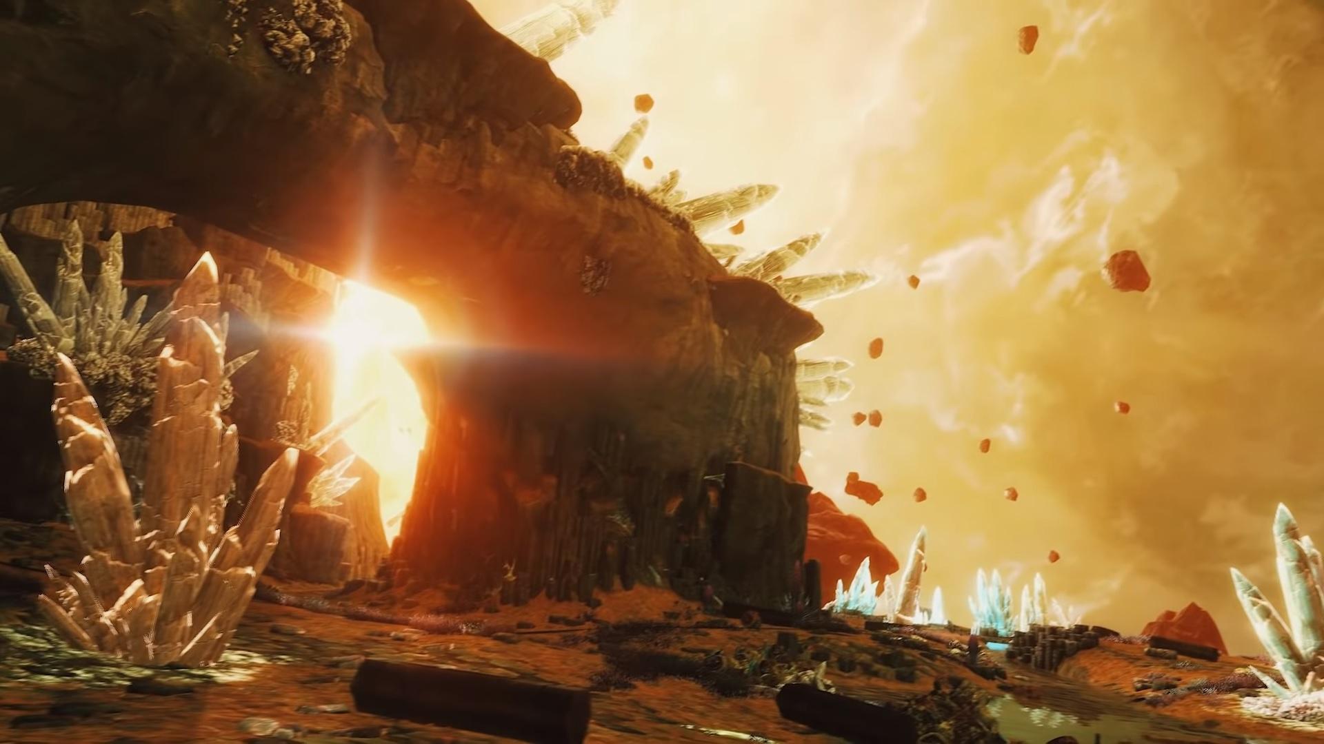 Black Mesa's Xen level looks so dang good screenshot
