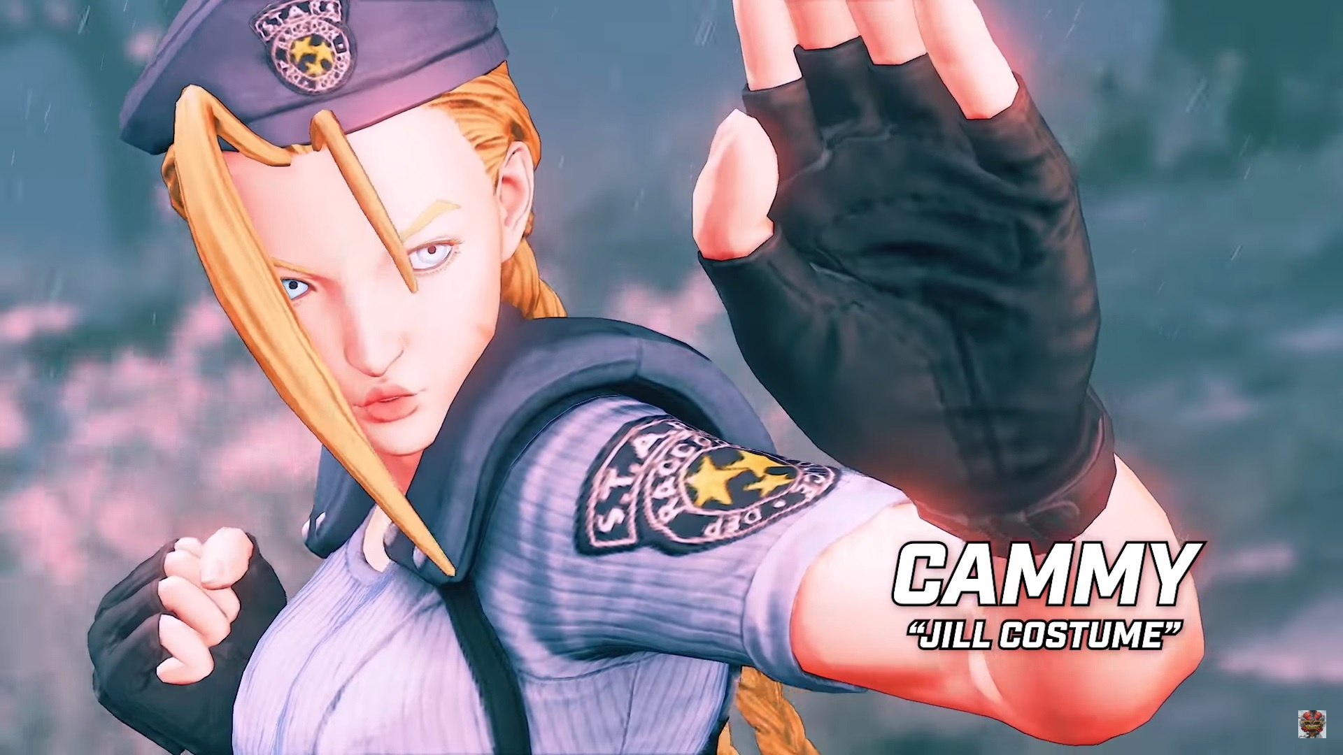 Street Fighter V's crossover Resident Evil costumes finally put pants on Cammy screenshot
