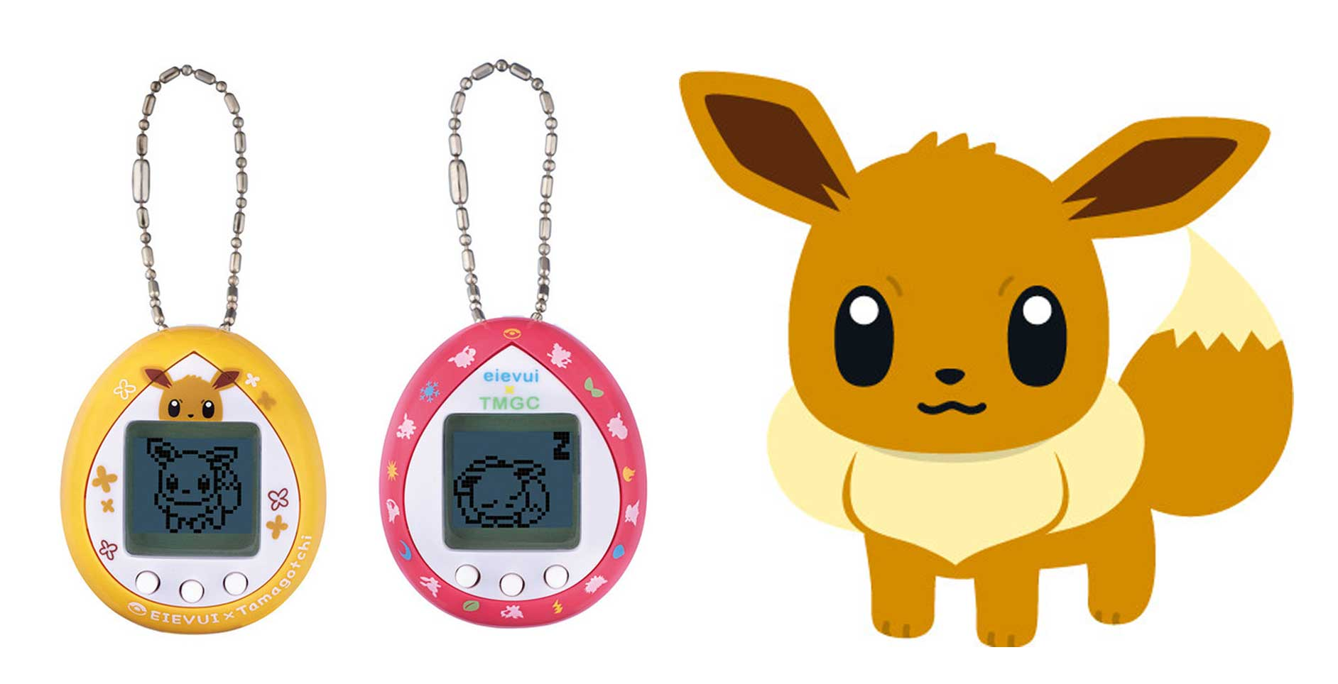 Eevee becomes the first Pokemon Tamagotchi screenshot