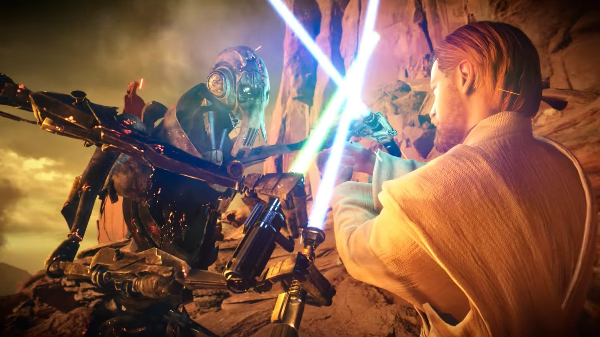 Grievous and Obi-Wan clash in the latest Star Wars Battlefront II trailer screenshot