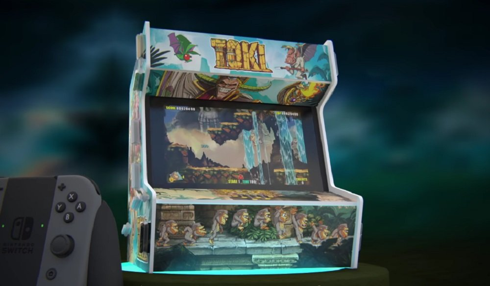 Toki remake gets its jungle boogie on for Nintendo Switch screenshot