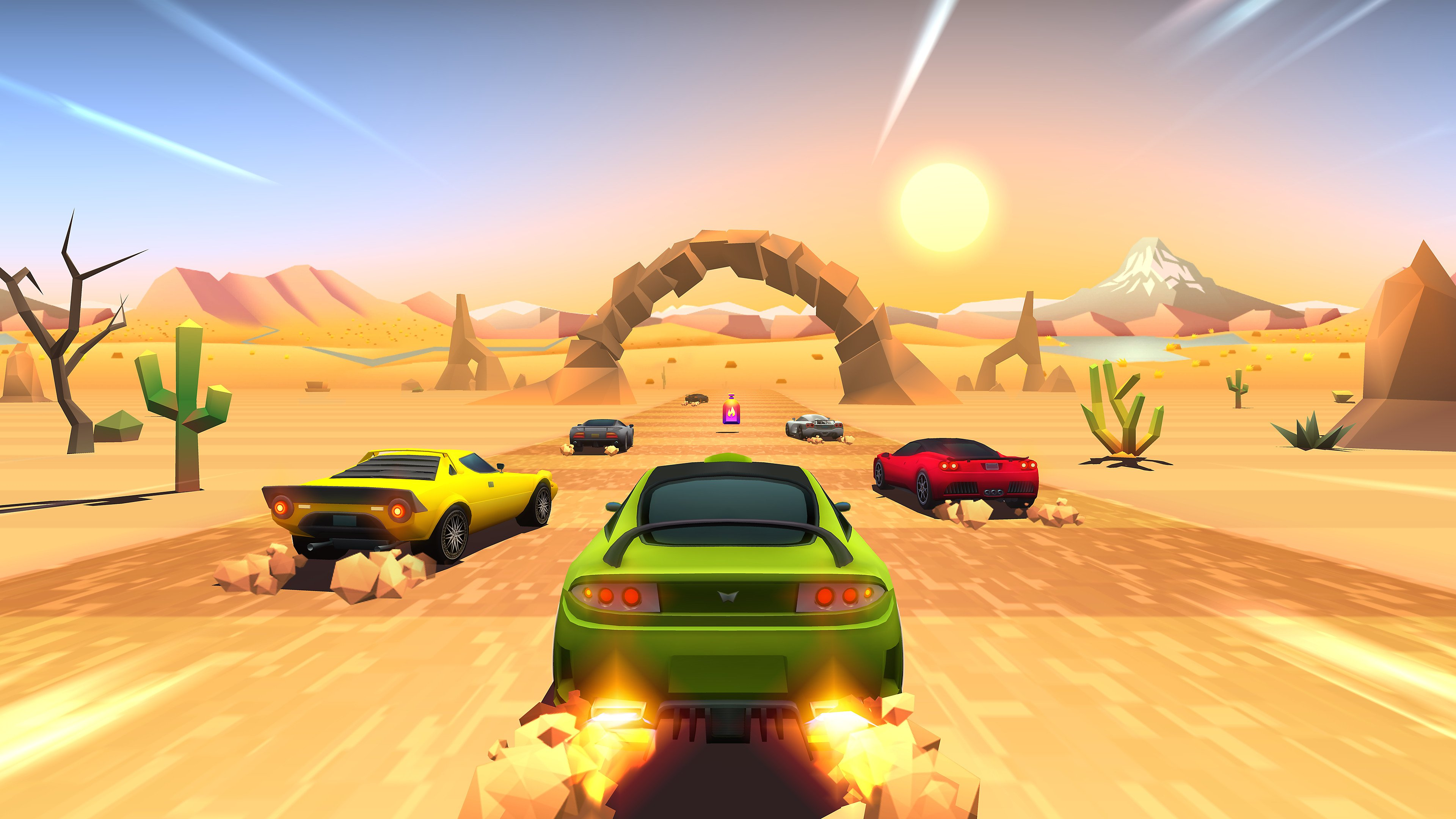 Nintendo Download: Horizon Chase Turbo screenshot