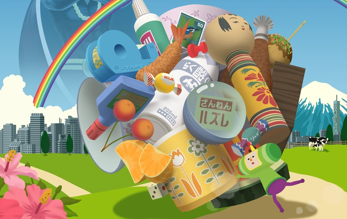 Download the Katamari Damacy Switch demo early with a Japanese eShop account screenshot