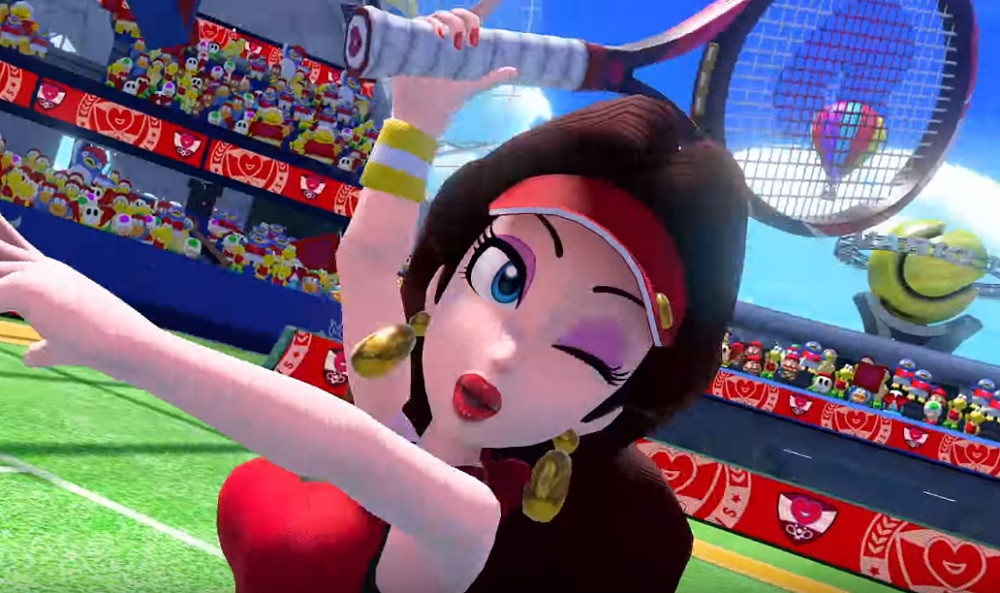 Mario Tennis Aces To Welcome Pauline Luma And Boom Boom To