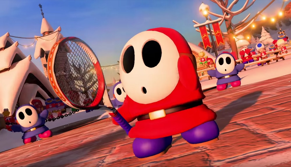 Shy Guy and Piranha Plant will be available in Mario Tennis Aces soon screenshot
