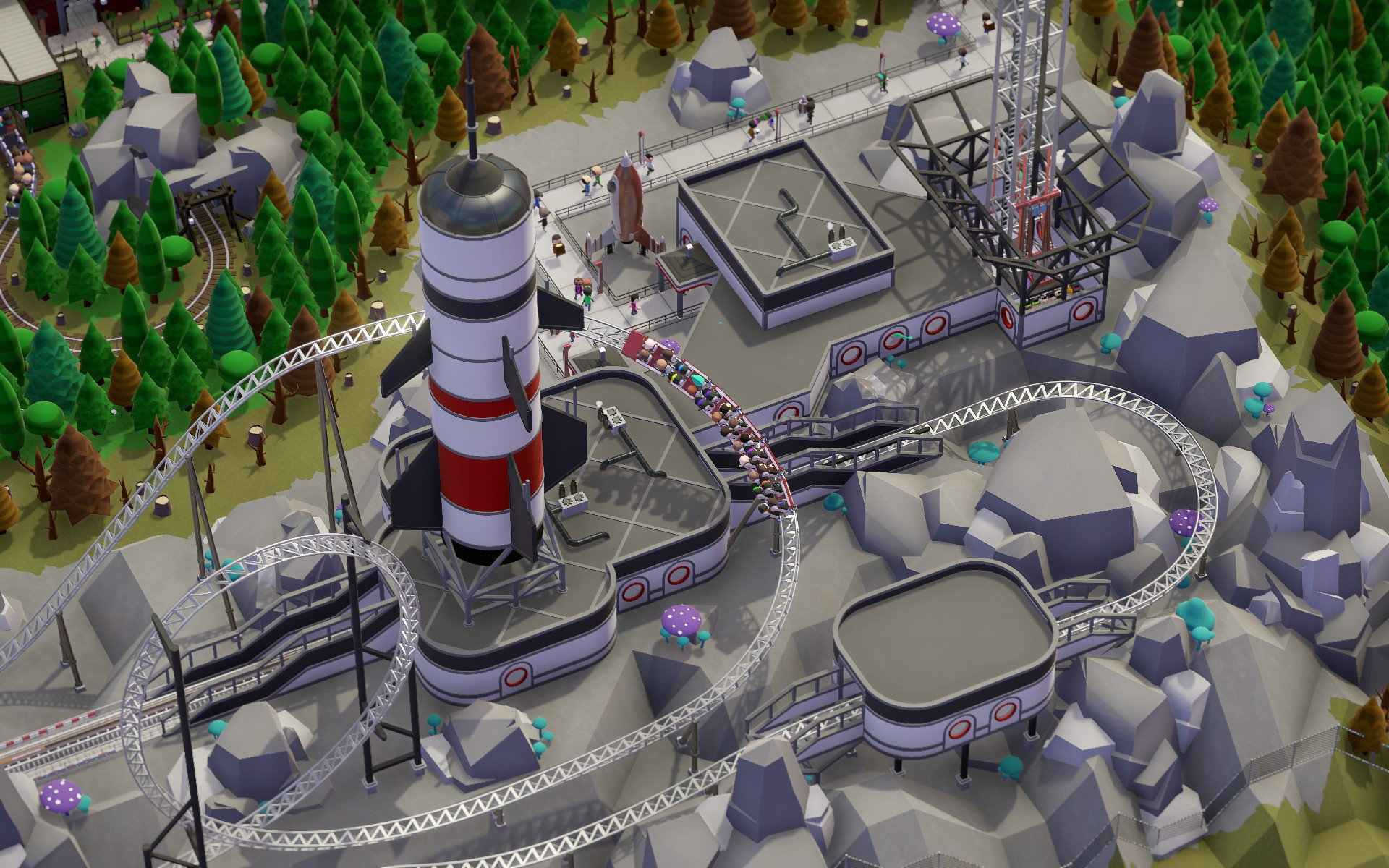 Review: Parkitect screenshot