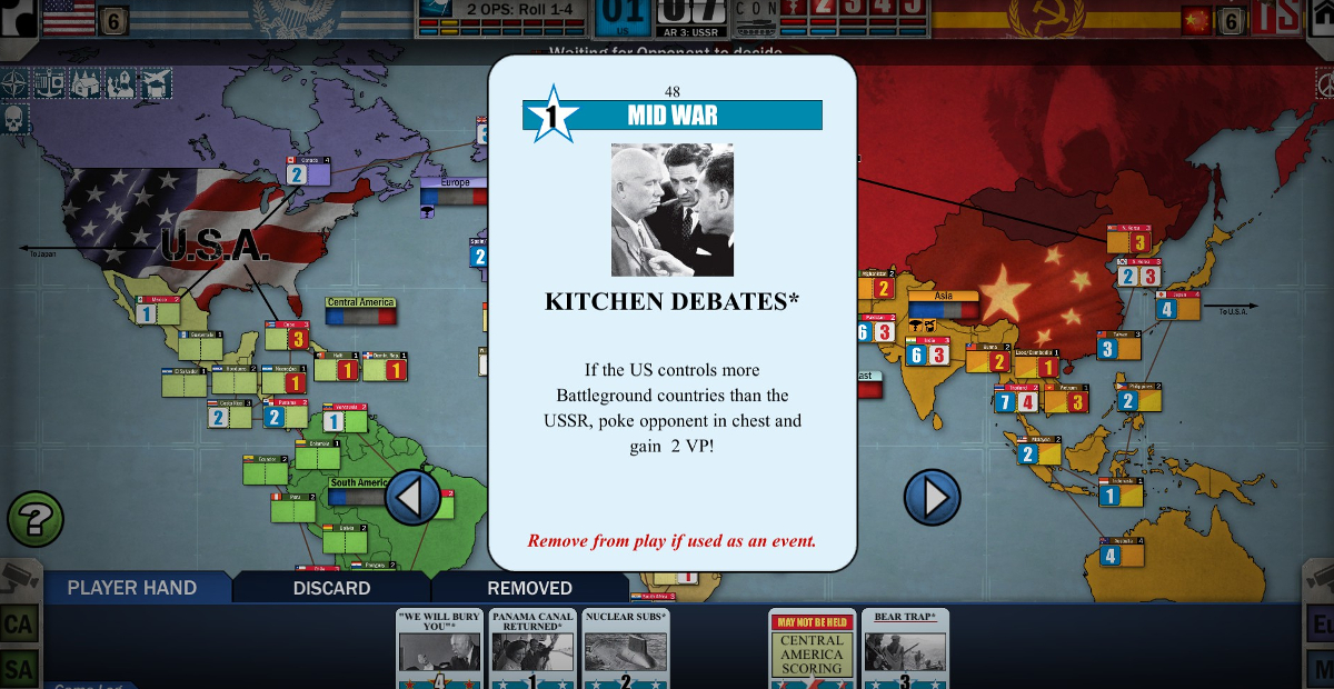 You have no more excuses for not playing Twilight Struggle thanks to the Humble board game bundle screenshot