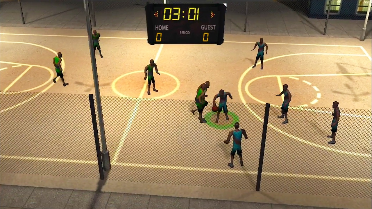 I saw this new Basketball Switch game and then my eyes started bleeding and now I'm dead screenshot