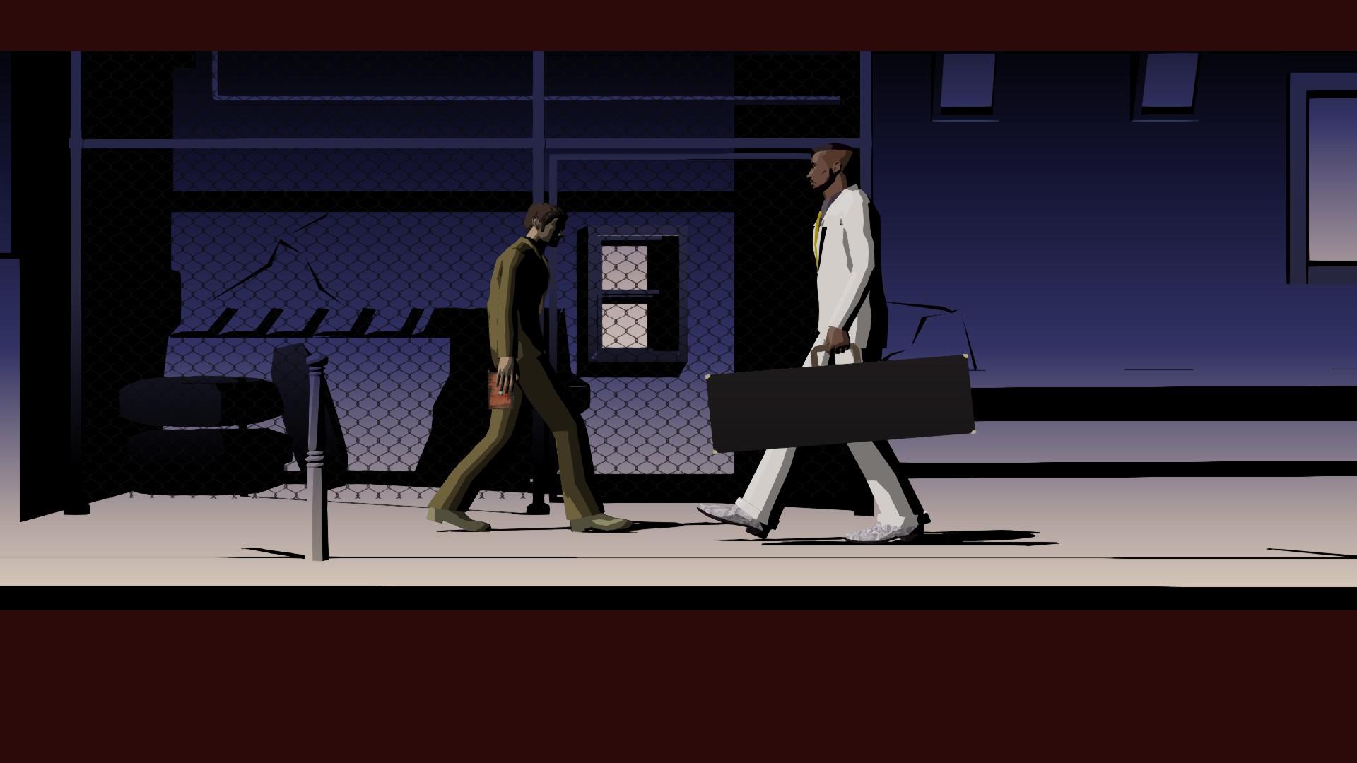 Review: Killer7 screenshot