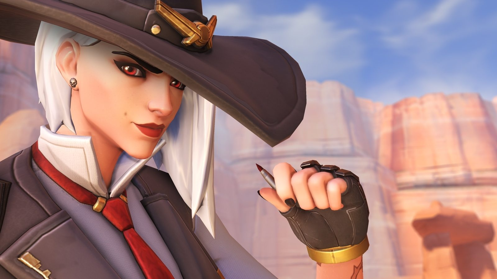 Overwatch's Ashe can be played in competitive now screenshot
