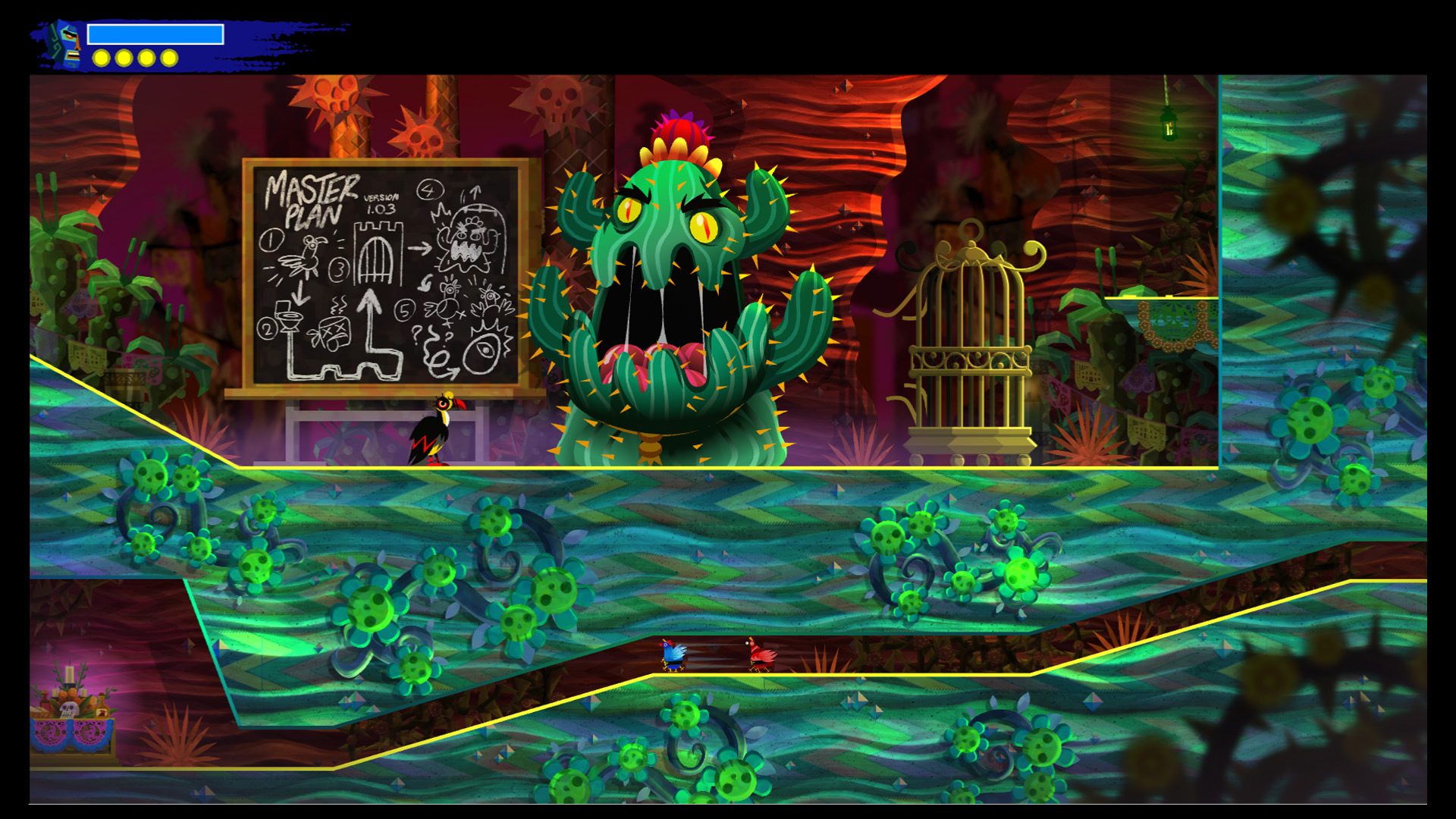 Guacamelee 2 is coming soon to Switch and Xbox One, so don't sleep on it screenshot