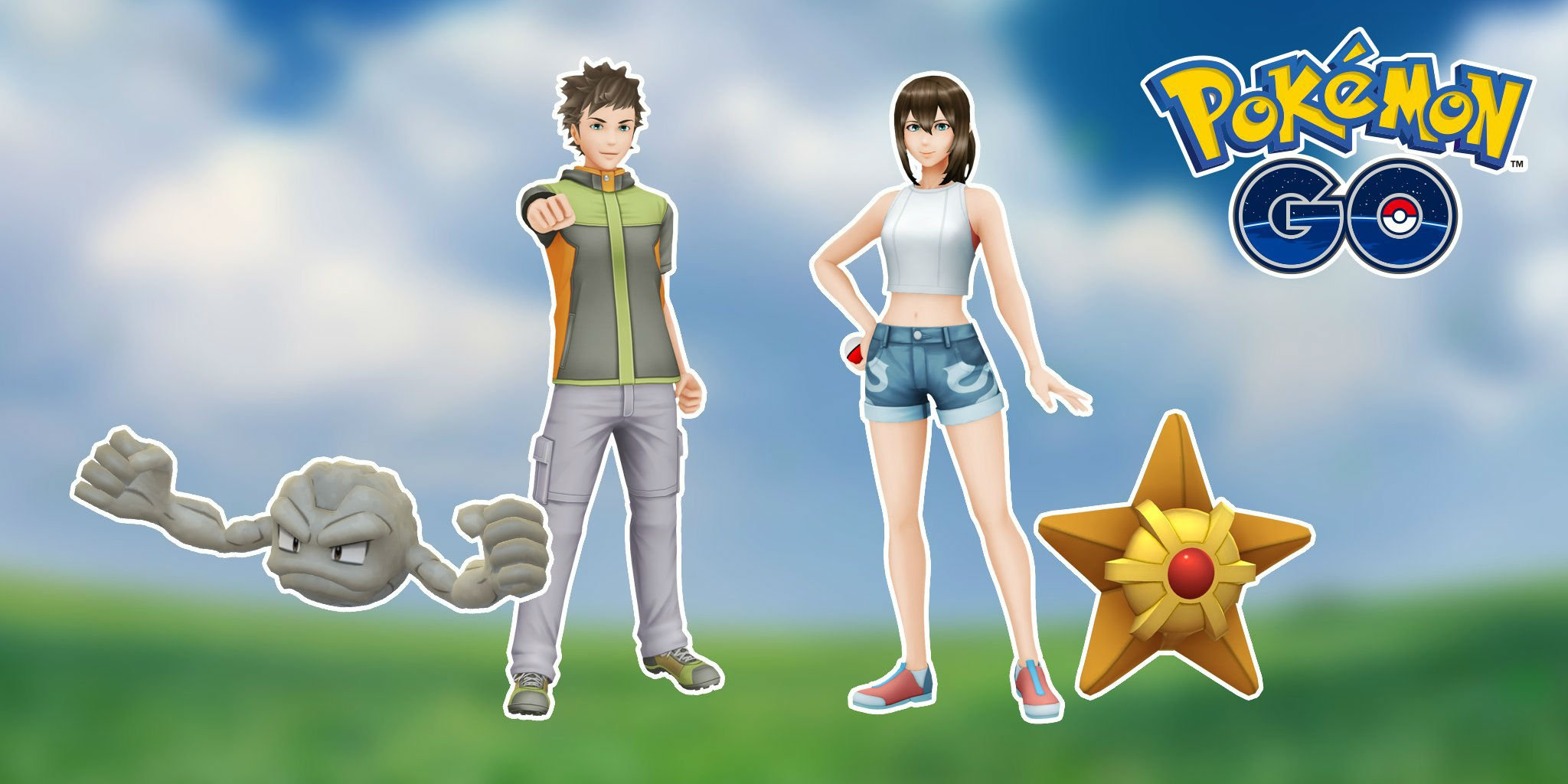 Pokemon Go further mines nostalgia with Misty and Brock outfits screenshot